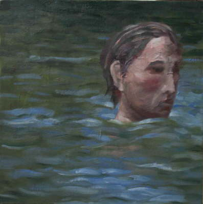 Head II. Oil on Canvas, 2005.